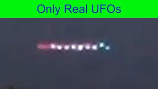 What happened to the UFO fleet after it hovered over Sestroretsk in Russia? Let's take a look.