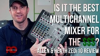 Allen & Heath ZEDi10 Mixer Review