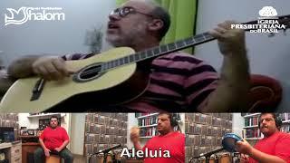 SENHOR ME ALEGRO EM TI | Asaph Borba | Voz, Violão e Percussão : Hebert Pereira & Daniel Bártholo