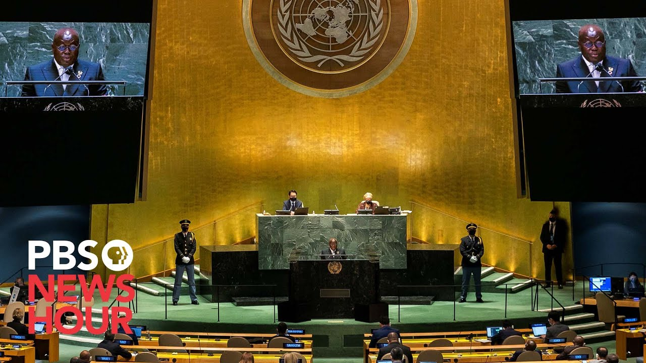 WATCH LIVE: 2021 United Nations General Assembly - Day 3