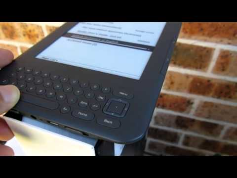 Kindle Keyboard Wifi-3G Unboxing and review Hoàng Kiên