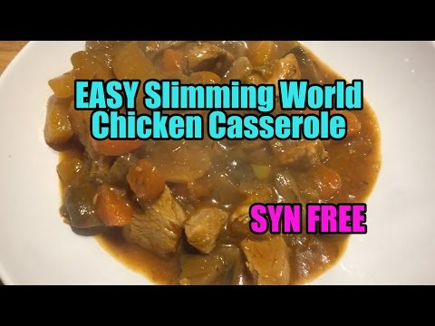 EASY Slimming World Chicken Casserole - SYN FREE
