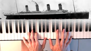 James Horner - Titanic soundtrack - My heart will go on - piano tutorial