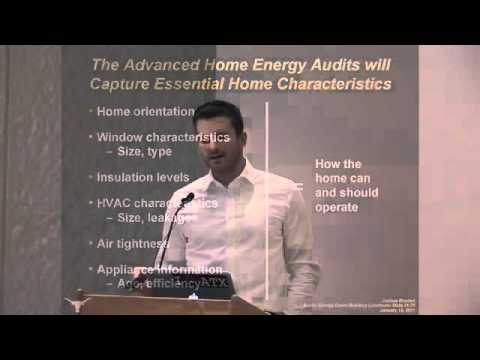 Energy Audit Study of Homes in Austin, Texas: Joshua Rhodes