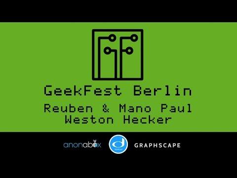 GeekFest Berlin 2016 | Reuben Paul and Weston Hecker