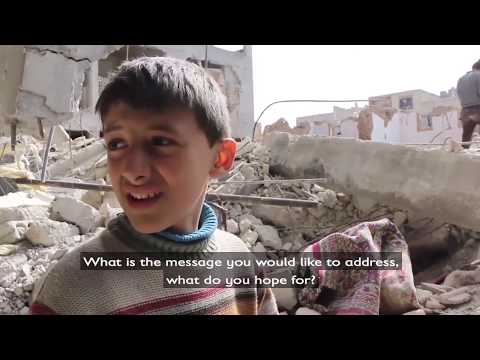 Boy in Ghouta, Syria