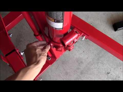 How To Install A Torin Engine Hoist. (Cherry Picker)