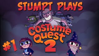 Stumpt Plays - Costume Quest 2 - #1 - Time Travel (1080p Playthrough Gameplay)