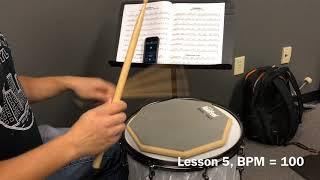 Alfred Drum Method Book 1, Lesson 5