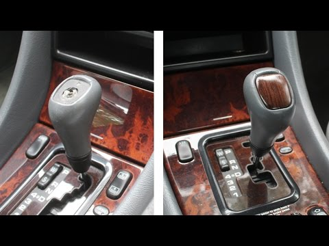 Woodworking repair on mercedes benz gear shift knob auto for Mercedes benz gear shift