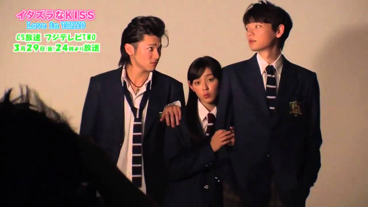 Itazura Na Kiss Love in Tokyo Photo Session BTS
