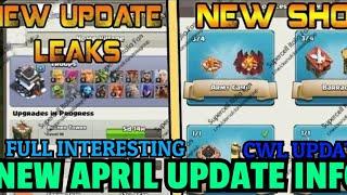 Clash Of Clans - NEW MAJOR APRIL UPDATE - COC APRIL UPDATE LEAKS -TIPS/TRICKS - HINDI.
