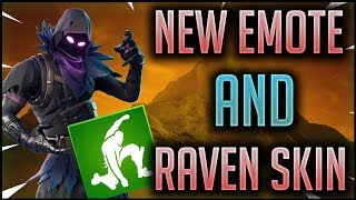 Ground Pound *NEW* Emote + Raven Skin is Back - Fortnite Item shop today [January 4, 2019]