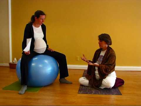 How To Use Yoga Ball Positions For Pregnancy And Labor Q And A Youtube