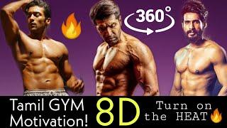 Tamil Workout 8D songs 🔥 2020| Tamil GYM Motivation 8D | 8D Dreams