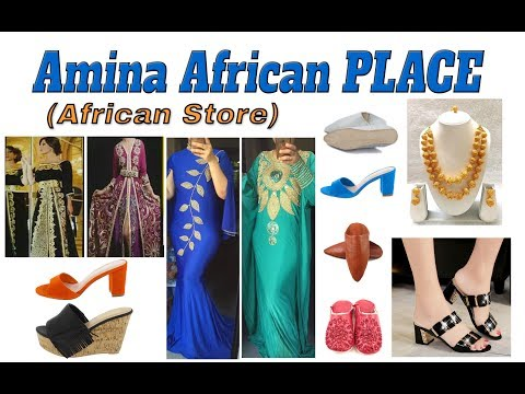 (214) 229-2382 Amina African Place ( African Store ) in Dallas, Texas, 9750 Walnut Street Mall, #149