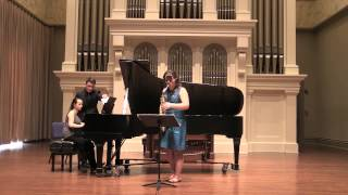 Charles Wuorinen Divertimento for Alto Saxophone & Piano