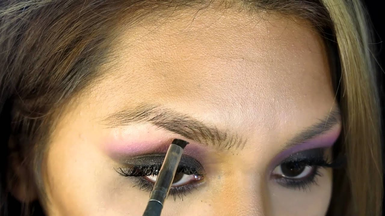 How To Eyebrow Hair Strokes Using Makeup Youtube