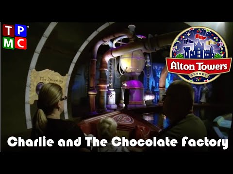 Charlie And The Chocolate Factory - Alton Towers - POV Full Ride Experience incl. Glass Elevator