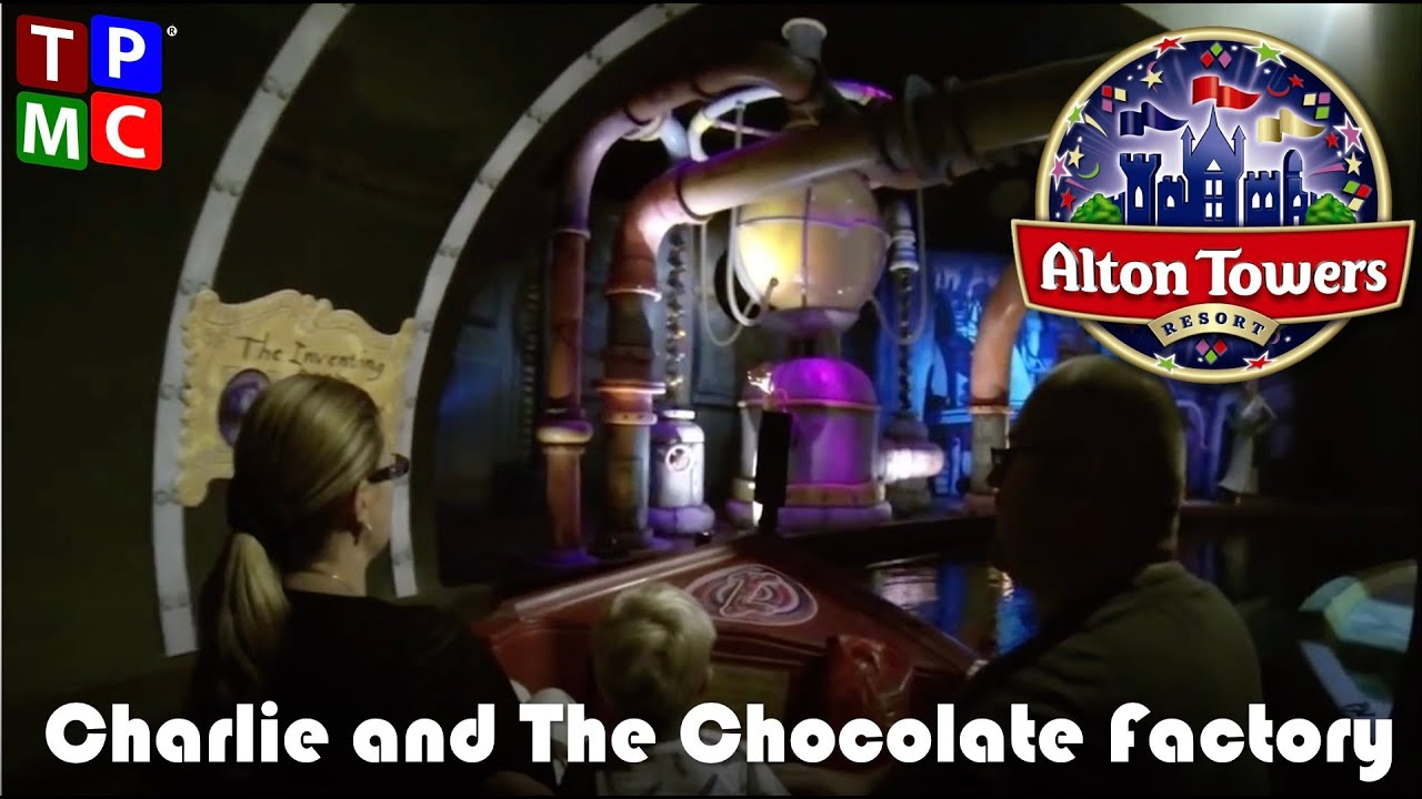 charlie and the chocolate factory alton towers pov full ride  charlie and the chocolate factory alton towers pov full ride experience incl glass elevator