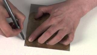 How To Cut A Microwave Wave Guide Cover From A Mica Sheet