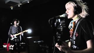 sunflower bean come on live at wfuv
