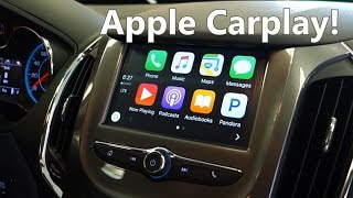 Apple Carplay/Android Auto in the 2016+ Chevrolet Cruze