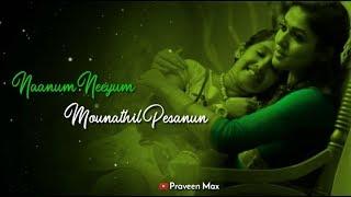 Kannana Kanne || Tamil Female Version || Viswasam || VARSHA || WhatsApp Status || Praveen Max