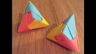 Cool Origami Post-It Model
