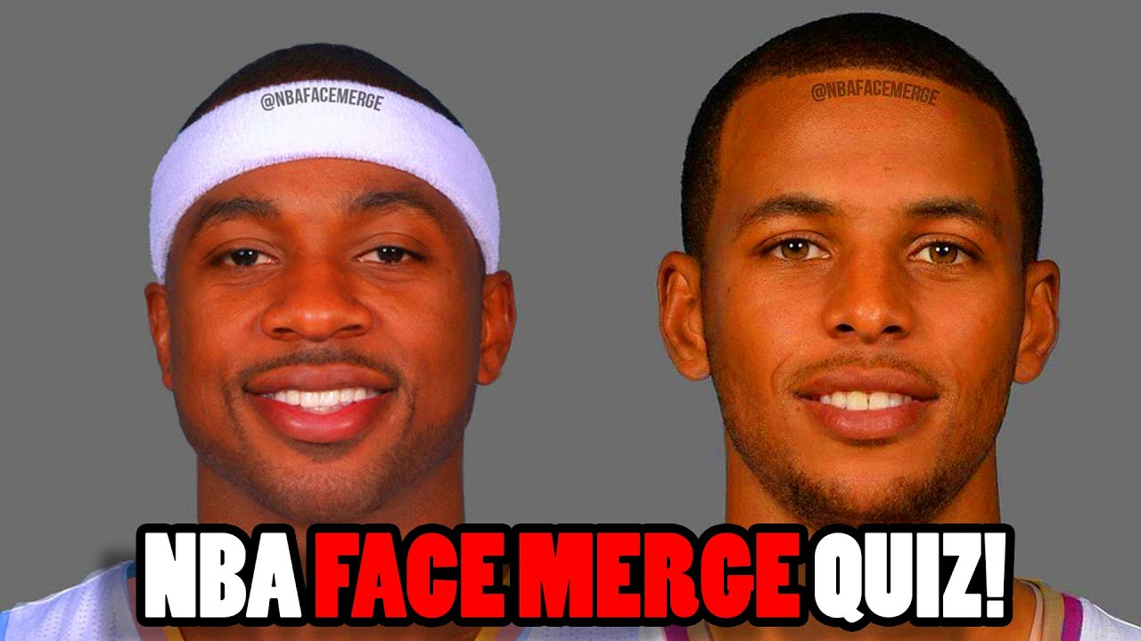 NEW Guess That NBA Face Merge Challenge! IMPOSSIBLE 100%
