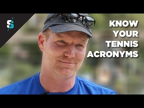 Know your tennis acronym with Jim Courier | Tennismash