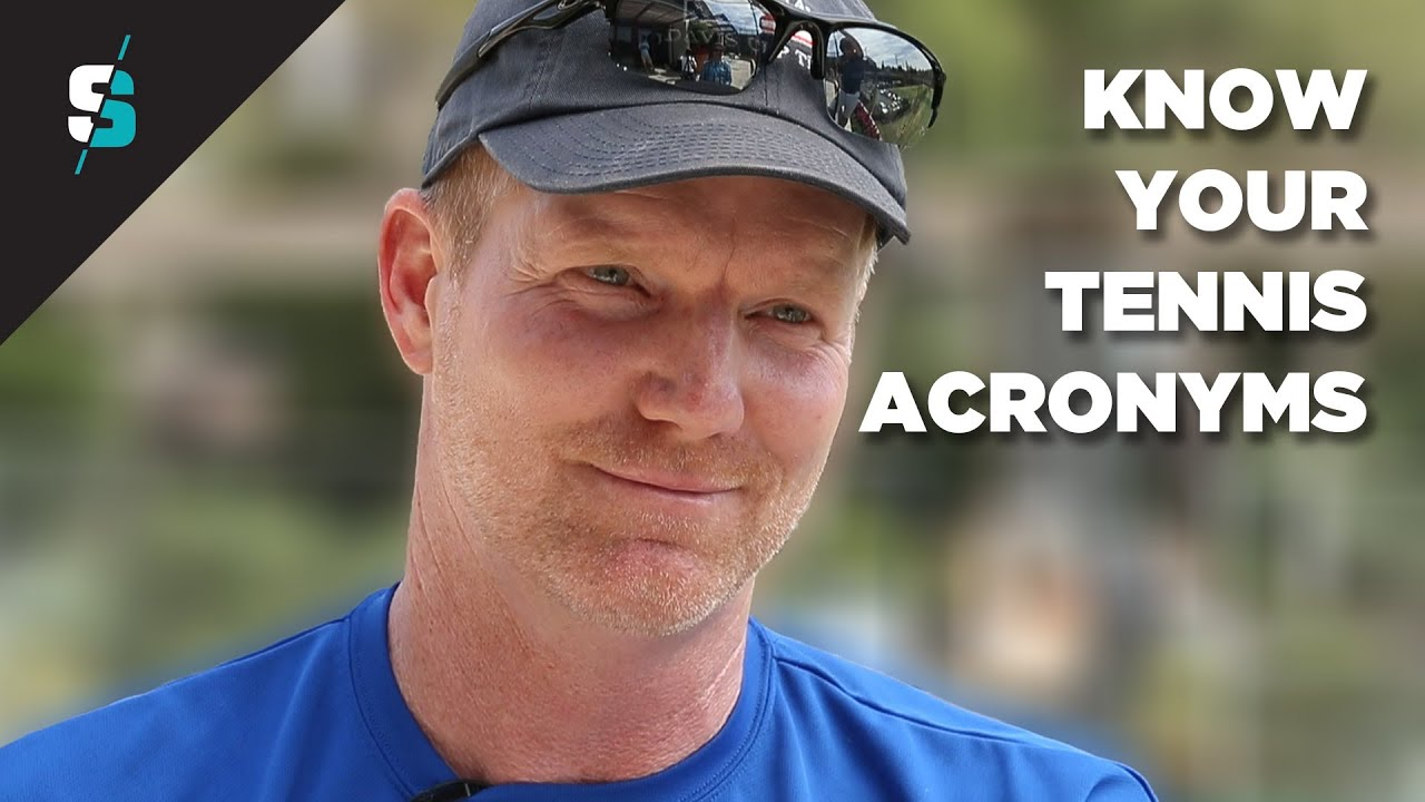 Know your tennis acronym with Jim Courier