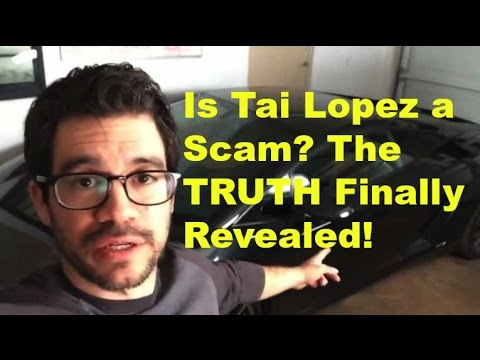 Why Tai Lopez & the 67 Steps is Not a SCAM & the TRUTH - How Tai Makes Money Revealed!