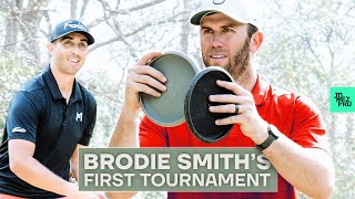 Paul McBeth mentors Brodie Smith before his first Disc Golf tournament | Jomez