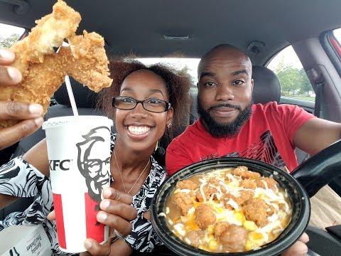 KFC FRIED CHICKEN MUKBANG | EATING SHOW