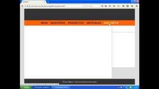 Tutorial HTML y CSS | Maquetación De Una Página Web
