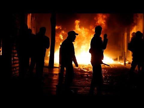 Distúrbios em Madrid após morte de imigrante senegalês