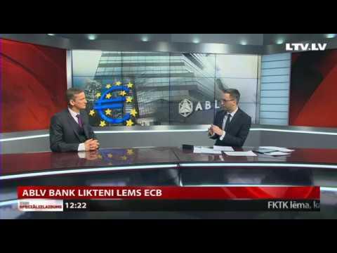 ABLV Bank likteni lems ECB