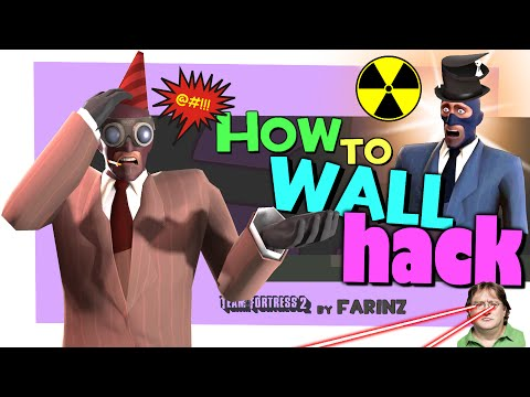TF2: How to wall hack [PASS Time gamemode/Exploit]