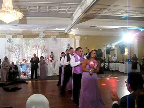 The Best Wedding Reception Entrance Dance To Black Eyed Peas I