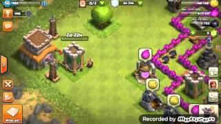 Upando o Rei bárbaro para o nv 2 - clash of clans