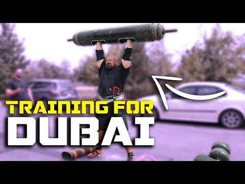 TRAINING FOR DUBAI | PRESS & YOKE  | BRIAN SHAW