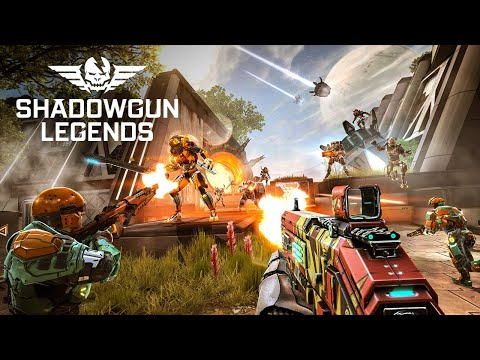 Shadowgun Legends - Global Launch Android Trailer - FPS Shooter