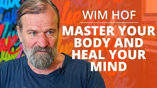 The SECRET To Making Yourself  MMUNE TO  LLNESS Heal Your Body And Mind Wim Hof \u0026 Lewis Howes