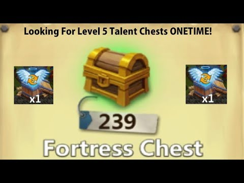 Opening Over 200 FORTRESS Chests SICK Rewards Lucky Castle Clash