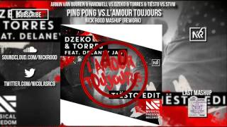 Repeat youtube video Ping Pong vs.L'Amour Toujours (Nick Rood Mashup) [Rework]