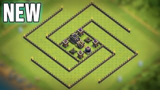 TH9 Hybrid Base Layout with Defense Replays for Proof | Anti 2 Star | Clash of Clans