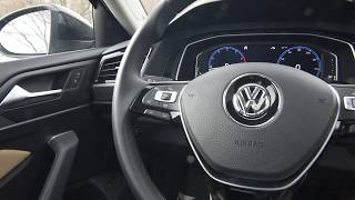 BRAND NEW 2019 Volkswagen Jetta SEL interior at Trend Motors VW in Rockaway, NJ