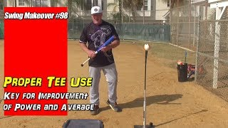 Gambar cover Proper Tee Use Key for Improving Power & Average  SM#98
