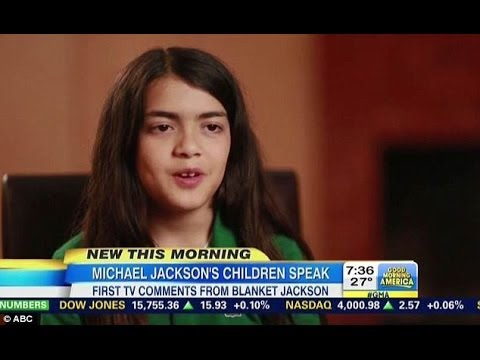 Michael Jackson Son Blanket 2014